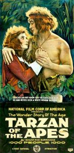 The very first Tarzan movie was a 1918 silent film.