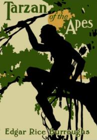 Cover of the first edition of Tarzan of the Apes