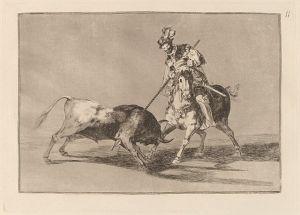 640px-Goya_-_El_Cid_Campeador_lanceando_otro_toro_(The_Cid_Campeador_Spearing_Another_Bull)