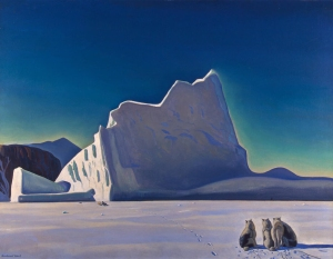 1933 - Rockwell Kent - Seal Hunter, North Greenland