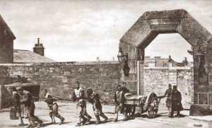 1900_Princetown,_Prison_Gate