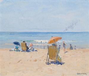 Elioth_Gruner_-_Tamarama_Beach,_1920