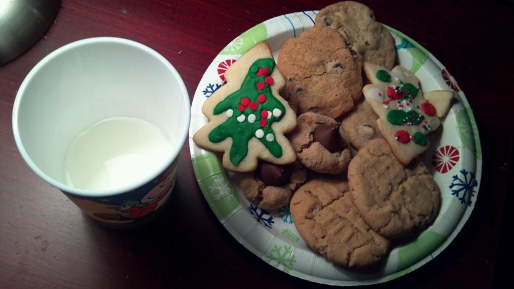 Cookies-milk-santa